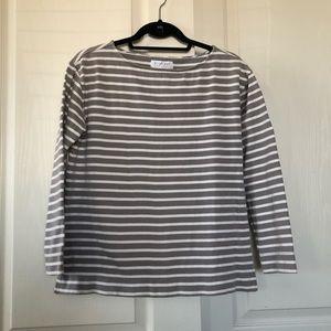 Everlane stripe sweater top size large